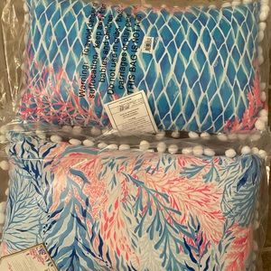 New Lilly Pulitzer In/Outdoor pillow set of 2